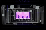 "『「Perfume×TECHNOLOGY」 presents ""Reframe""』NHK・BSプレミアムで7月7日深夜(=8日午前)に再放送。Perfumeメンバーによる副音声も実施(C)上山陽介"