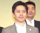 『COOL JAPAN PARK OSAKA』記者会見に出席した大阪市長・吉村洋文氏 (C)ORICON NewS inc.