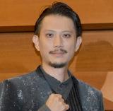 舞台Punk Fantasy『BOSS CAT』のゲネプロ前囲み挨拶に出席した細見大輔 (C)ORICON NewS inc.