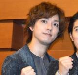 舞台Punk Fantasy『BOSS CAT』のゲネプロ前囲み挨拶に出席した平野潤也 (C)ORICON NewS inc.