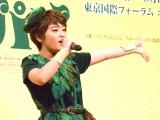 ブロードウェイミュージカル『ピーターパン』の制作発表会見に参加した吉柳咲良 (C)ORICON NewS inc.