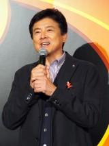 ディズニー/ピクサー映画『インクレディブル・ファミリー』(8月1日公開)日本版完成披露試写会に登壇した三浦友和 (C)ORICON NewS inc.