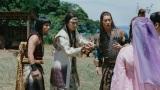 CM「あたらしい七夕」篇に出演する(左から)濱田岳、松田翔太、桐谷健太