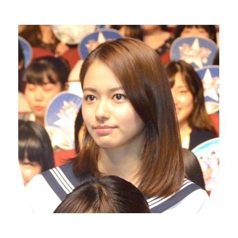 ドラマ『チア☆ダン』の舞台あいさつに登壇した山本舞香 (C)ORICON NewS inc.