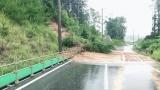 近畿地方では激しい大雨で土砂崩れも (C)ORICON NewS inc.