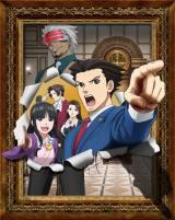 『逆転裁判Season2』キービジュアル(C)CAPCOM/読売テレビ・A-1 Pictures