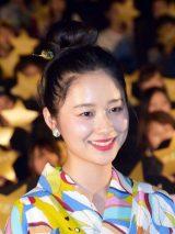 映画『虹色デイズ』の公開記念舞台あいさつに登壇した堀田真由 (C)ORICON NewS inc.