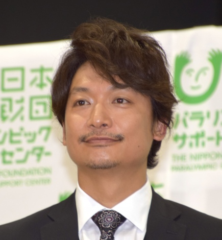 「雨あがりのステップ」寄付贈呈式に出席した香取慎吾 (C)ORICON NewS inc.