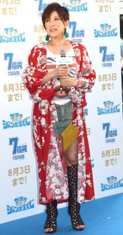 『サマージャンボ宝くじ』『サマージャンボミニ』発売記念イベントに出席したTRF・YU-KI (C)ORICON NewS inc.