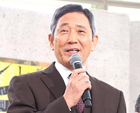 ドラマ『ハゲタカ』の制作発表会見に出席した小林薫 (C)ORICON NewS inc.