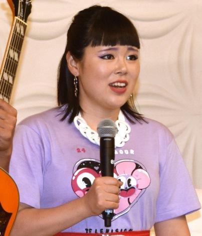 『24時間テレビ41 愛が地球を救う』の記者会見に出席したブルゾンちえみ (C)ORICON NewS inc.