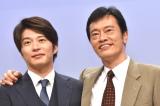 ドラマ『健康で文化的な最低限度の生活』制作発表会に出席した(左から)田中圭、遠藤憲一 (C)ORICON NewS inc.