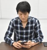 AIを育成する千原ジュニア (C)ORICON NewS inc.