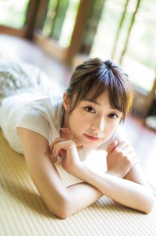 『週刊ヤングジャンプ』31号に登場する宇垣美里 (C)細居幸次郎/集英社