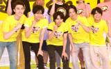 Sexy Zone(左から)マリウス葉、中島健人、佐藤勝利、菊池風磨、松島聡 (C)ORICON NewS inc.
