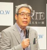 前川裕氏=WOWOW『連続ドラマW イアリー 見えない顔』完成披露舞台あいさつ (C)ORICON NewS inc.