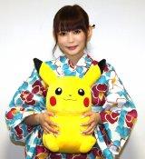 映画『劇場版ポケットモンスター みんなの物語』に出演した中川翔子 (C)ORICON NewS inc.