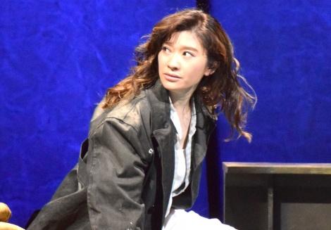 舞台『アンナ・クリスティ』プレスコールの模様 (C)ORICON NewS inc.