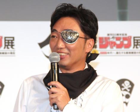 『週刊少年ジャンプ展 VOL.3』の特別トークセッションに出席したスピードワゴン・小沢一敬 (C)ORICON NewS inc.