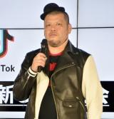 ショートムービーアプリ『Tik Tok』新CM発表会に出席したくっきー (C)ORICON NewS inc.