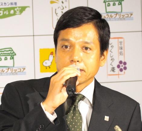 ドラマBiz『ラストチャンス 再生請負人』記者会見に出席した勝村政信 (C)ORICON NewS inc.