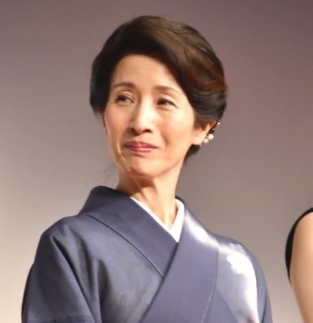 映画『君がまた走り出すとき』の舞台あいさつに出席した松原智恵子 (C)ORICON NewS inc.