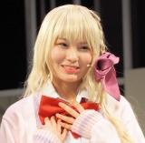 舞台『あにてれ×=LOVE ステージプロジェクト「ガールフレンド(仮)」』公開ゲネプロに参加した大場花菜 (C)ORICON NewS inc.