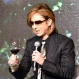 自身プロデュースのワインを試飲するYOSHIKI (C)ORICON NewS inc.