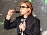 『Y by Yoshiki』プレミアム新作ワイン発表会に出席したX JAPAN・YOSHIKI (C)ORICON NewS inc.