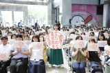 ドラマ『健康で文化的な最低限度の生活』トークイベントに出席した吉岡里帆