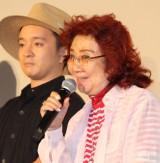 映画『劇場版ポケットモンスター みんなの物語』公開記念舞台あいさつに出席した野沢雅子 (C)ORICON NewS inc.