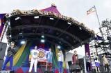野外音楽イベント『DANCE EARTH FESTIVAL 2018』に出演したFANTASTICS