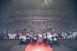 葵わかなと佐野勇斗をまじえて記念撮影 Photo by Kawasaki Tatsuya