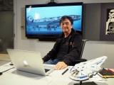 0映画『ハン・ソロ/スター・ウォーズ・ストーリー』CGモデラーとして制作に参加した成田昌隆さん (C)ORICON NewS inc.