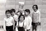 小学生の頃からプラモデルが大好きだった成田昌隆さん(左から2番目)(C)2018 Lucasfilm Ltd. All Rights Reserved.