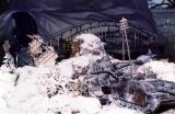 成田昌隆さんが中学生の時に作ったジオラマ。雪は小麦粉(C)2018 Lucasfilm Ltd. All Rights Reserved.