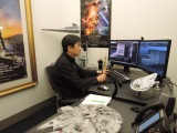 ILMにある成田昌隆さんの仕事部屋(C)2018 Lucasfilm Ltd. All Rights Reserved.