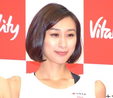 住友生命『Vitality』メディア発表会に出席した浅田舞 (C)ORICON NewS inc.