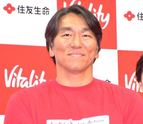 住友生命『Vitality』メディア発表会に出席した松井秀喜氏 (C)ORICON NewS inc.