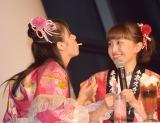 東京スカイツリーでコラボイベント『ソラクロ祭 ももクロ in トーキョースカイツリー』取材会の模様 (C)ORICON NewS inc.