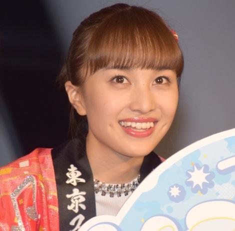 東京スカイツリーでコラボイベント『ソラクロ祭 ももクロ in トーキョースカイツリー』取材会に出席した百田夏菜子 (C)ORICON NewS inc.