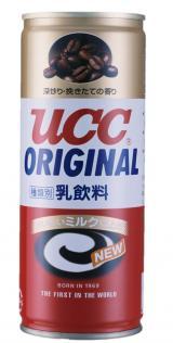 『UCC ミルクコーヒー』6代目パッケージ