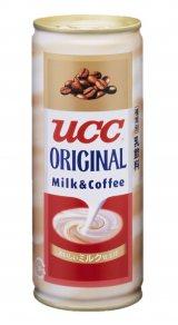 『UCC ミルクコーヒー』7代目パッケージ