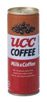 『UCC ミルクコーヒー』8代目パッケージ