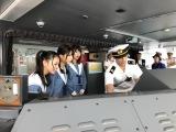 機器や船長室などを見学(C)STU