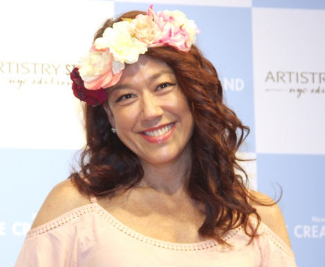 『New York ICE CREAM LAND supported by ARTISTRY STUDIO』オープニングイベントに出席したLiLiCo (C)ORICON NewS inc.