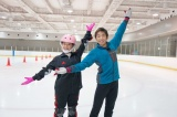 カンテレ新人・谷元星奈アナ、練習2ヶ月弱でフィギュアスケート挑戦(C)カンテレ