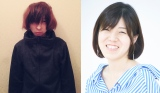 (左から)第159回『芥川賞』を獲得した高橋弘希氏、『直木賞』を獲得した島本理生氏(C)鈴木心
