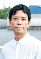 第159回芥川龍之介賞にノミネートされた町屋良平氏(C)小原太平
