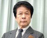 浅利慶太さんの訃報を受けて会見を行った鹿賀丈史 (C)ORICON NewS inc.